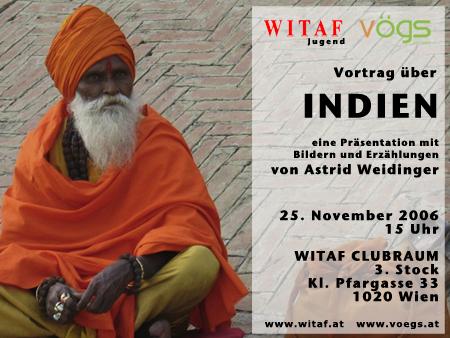 Vortrag Indien