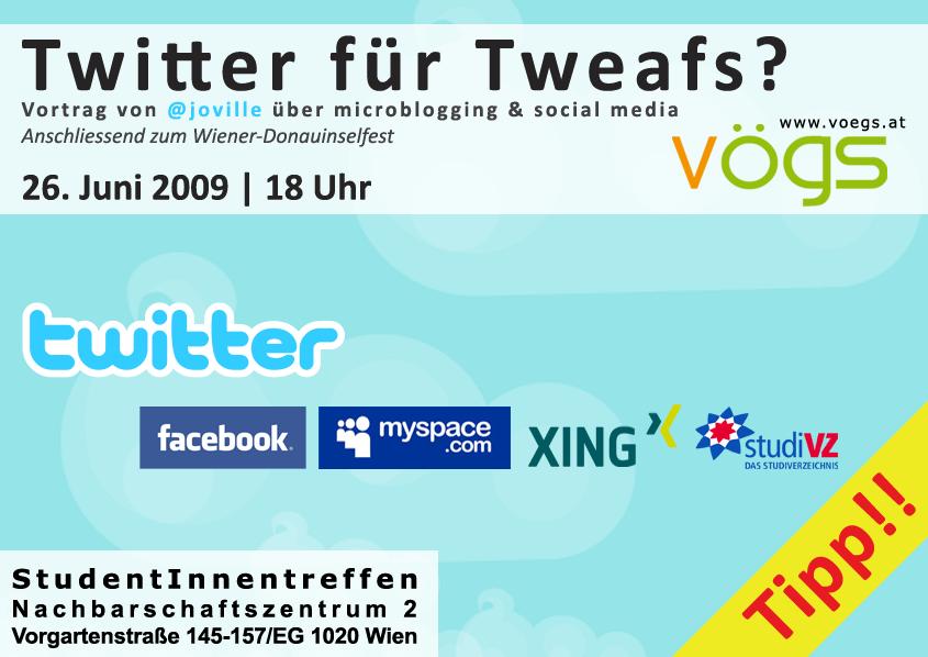 Twitter für Tweafs