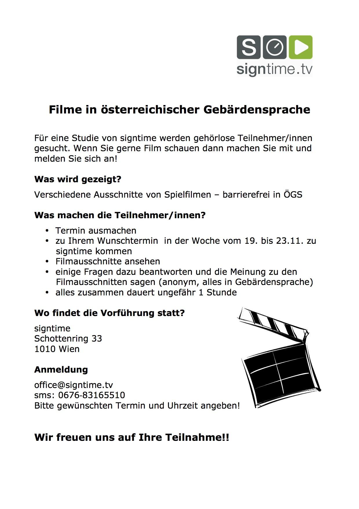 Einladung Filmvorführung signtime Kopie