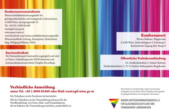 WASt-Fachkonferenz: Intersektionalität - LGBTIQ und Behinderung