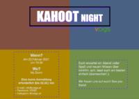 Kahoot Night